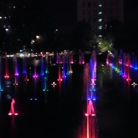 Photo taken at Citygarden by Andrea H. on 8/31/2012