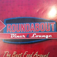Photo taken at Roundabout Diner & Lounge by Michelle M. on 4/18/2012