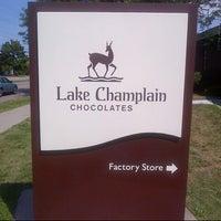 Photo taken at Lake Champlain Chocolates by Franklin V. on 8/8/2012
