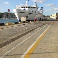 Photo taken at Porto di Santa Teresa di Gallura by Andrey M. on 7/16/2012