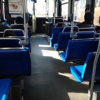 Photo taken at Bus 64 (Green St. & Magazine St.) by David F. on 2/22/2012