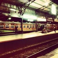 Photo taken at Stasiun Purwokerto by Aji A. on 8/21/2012