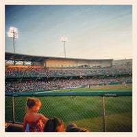 Photo taken at Victory Field by Trevor W. on 6/10/2012