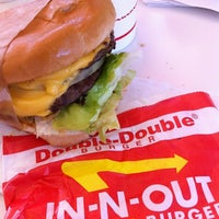 Photo taken at In-N-Out Burger by Sarah M. on 4/16/2012