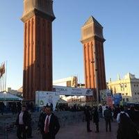 Photo taken at Fira de Barcelona by Tomonori H. on 2/27/2012