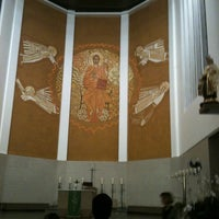 Photo taken at Catedral Santa Teresinha by Livia D. on 7/15/2012