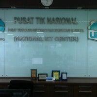 Photo taken at Pusat Teknologi Informasi dan Komunikasi Nasional by Mahesa B. on 6/4/2012