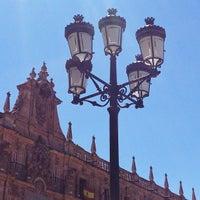 Photo taken at Plaza Mayor by Oscar M. on 7/5/2012
