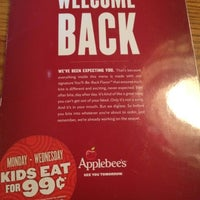 Photo taken at Applebee's by Francis Benedict T. on 7/22/2012
