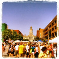 Photo taken at Downtown Des Moines Farmers Market by Andrew C. on 7/7/2012