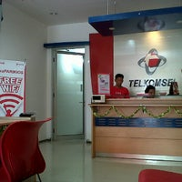 Photo taken at Gerai Halo Telkomsel by dhiana A. on 6/26/2012