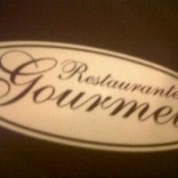 Photo taken at Restaurante Gourmet by Ricardo A. on 4/4/2012