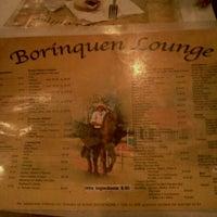 Photo taken at Borinquen Lounge by Fabian B. on 10/15/2011