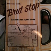 Photo taken at The Brat Stop by Ashley S. on 9/10/2011