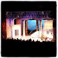 Photo taken at Beverly S. Sheffield Zilker Hillside Theater by Tucker B. on 7/15/2012