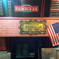 Photo taken at Famous Famiglia Pizza by Capt Awesome on 11/10/2011