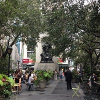 Photo taken at Herald Square by Rhondaa R. on 7/26/2012
