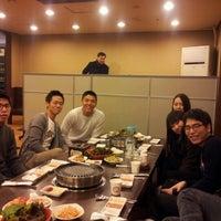 Photo taken at 등나무집 by Jenn K. on 12/30/2011