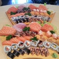 Photo taken at Joy Sushi by Samuel A. on 8/25/2012