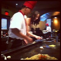 Photo taken at Wasabi Japanese Steakhouse by Lyndsay C. on 8/19/2012