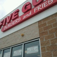 Photo taken at Five Guys by Jean A. on 2/27/2012