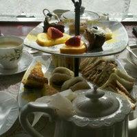 Photo taken at A Corner of England Tea Room by Bridgette P. on 1/29/2012