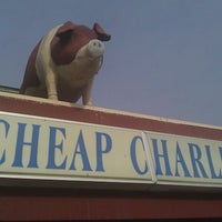 Photo taken at Cheap Charlie's by Joe D. on 12/16/2011