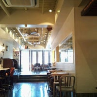 Photo taken at J.S.BURGERS CAFE 新宿店 by p p. on 11/3/2011