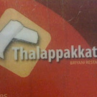 Photo taken at Thalappakkattu Briyani Restaurant by YAS on 3/4/2011
