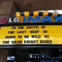 Photo taken at LG IMAX Theatre by Anette on 7/23/2012