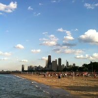 Photo taken at North Avenue Beach by Ruben on 6/22/2012