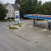 Photo taken at Mobil by joey m. on 9/24/2011