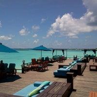 Photo taken at Sheraton Maldives Full Moon Resort & Spa by Eric C. on 10/8/2011