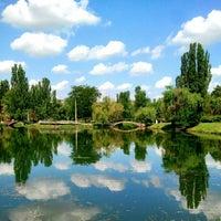 Photo taken at Парк Гагарина by Viacheslav B. on 7/14/2012