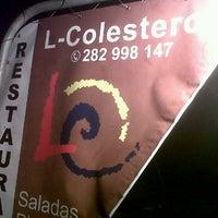 Photo taken at Restaurante El Colestrol by João E. on 10/22/2011
