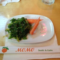 Photo taken at Momo Sushi & Cafe by Jorge Hot&Spicy P. on 6/30/2012