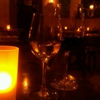 Photo taken at UVA Wine Bar & Restaurant by Joanna Z. on 5/7/2012