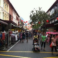 Photo taken at Chinatown MRT Interchange (NE4/DT19) by Gabriel Y. on 5/22/2012