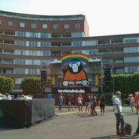 Photo taken at Marie Heinekenplein by Gino P. on 4/30/2011