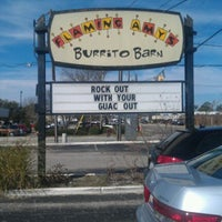 Photo taken at Flaming Amy's Burrito Barn by Tracey H. on 2/25/2012