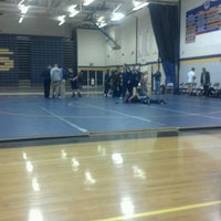 Photo taken at Owosso High School by Kevin Michael F. on 1/4/2012