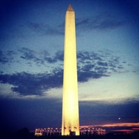Photo taken at Washington Monument by Brian C. on 8/11/2012
