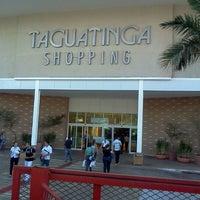 Photo taken at Taguatinga Shopping by Diego I. on 8/7/2012