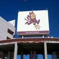 Photo taken at Sun Devil Stadium by Linda S. on 10/12/2011