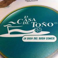 Photo taken at La Casa de Toño by Gerardo I. on 7/16/2012