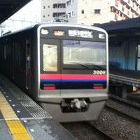 Photo taken at Keisei Sekiya Station (KS06) by nakanao on 10/1/2011