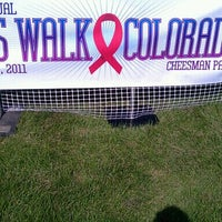 Photo taken at AIDS Walk Colorado by Steve H. on 8/13/2011