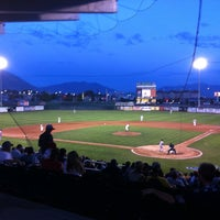 Photo taken at Brent Brown Ballpark by Jack W. on 7/22/2012
