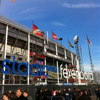 Photo taken at Stadion Feijenoord by Marchel F. on 4/14/2012