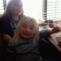 Photo taken at Sizzler Steakhouse by Melissa B. on 4/6/2012